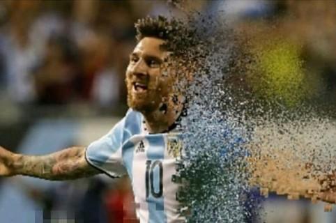 Meme de la derrota de Argentina