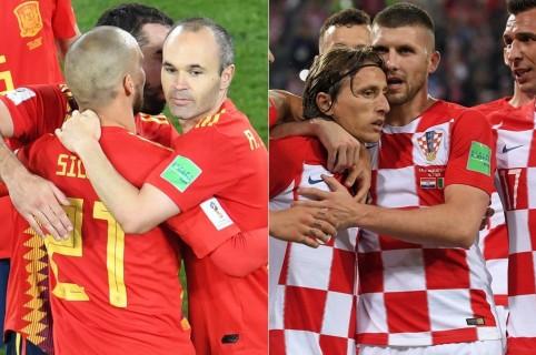 España y Croacia