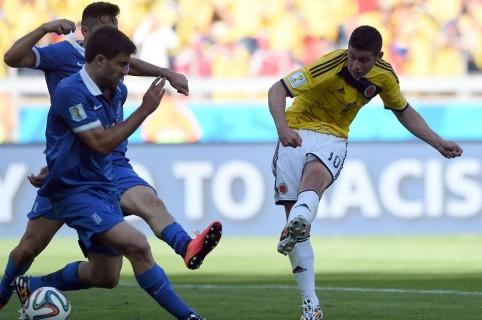 Colombia vs. Grecia, Brasil 2014