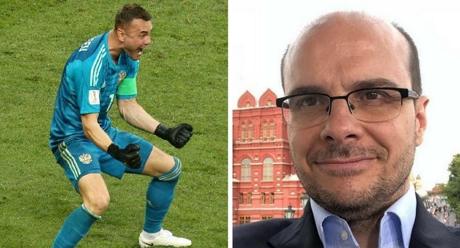 Akinfeev y Mister Chip