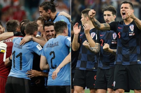 Uruguay y Croacia