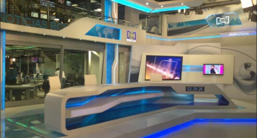Set de noticias RCN