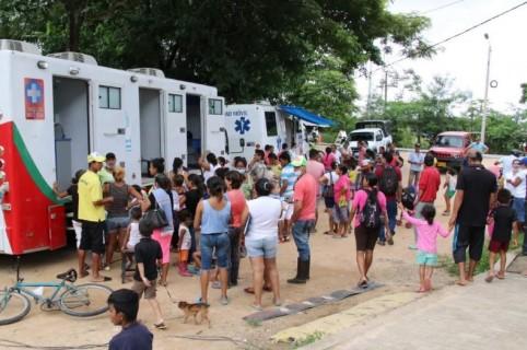 Emergencias por inundaciones en Arauca