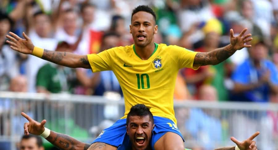 Neymar y Paulinho