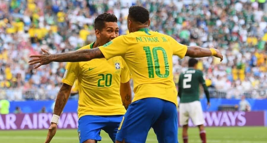 Neymar y Firmino