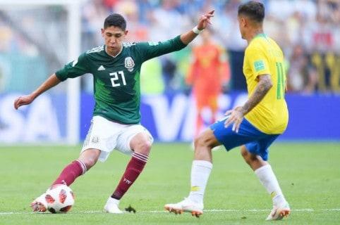 México 0-2 Brasil