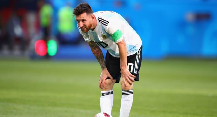 Lionel Messi, en el Mundial