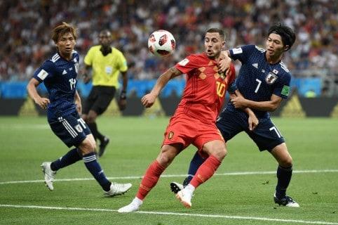 Bélgica vs. Japón