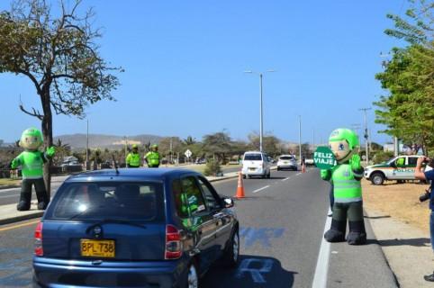 Movilidad, Policía de Tránsito
