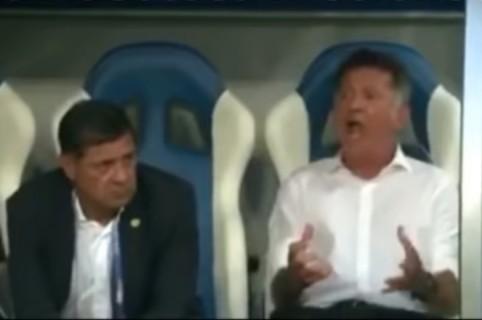 Osorio gritando
