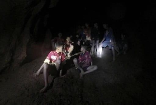 niños de tailandia rescatados EFE