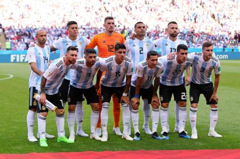 Selección Argentina en Rusia