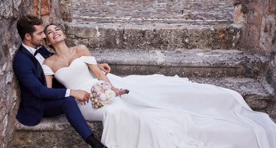 David Bisbal y Rosana Zanetti