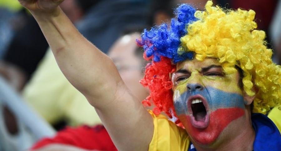 Hincha de la Selección Colombia