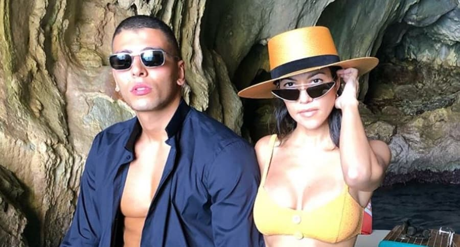 Younes Bendjima y Kourtney Kardashian