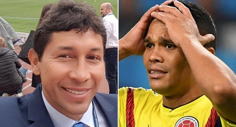 Jorge Bermúdez y Carlos Bacca