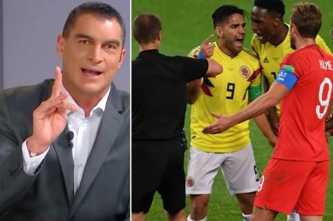 Faryd Mosndragón y Colombia vs. Inglaterra