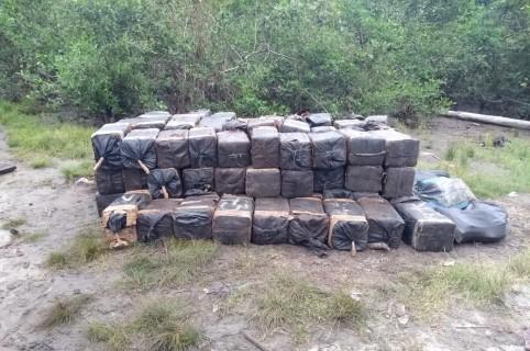 Cocaína incautada en Nariño