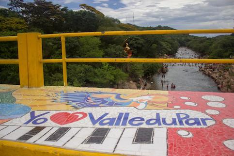 Mural Leyenda vallenata