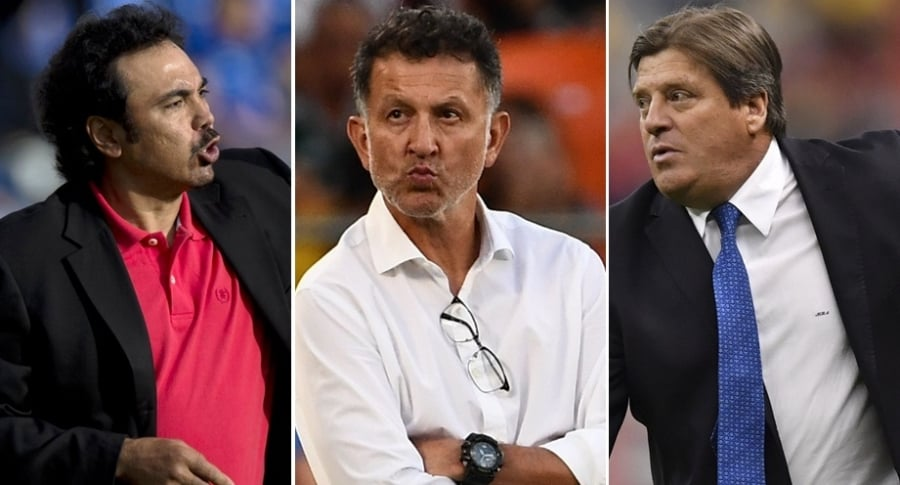 Hugo Sánchez, Juan Carlos Osorio y Miguel 'Piojo' Herrera