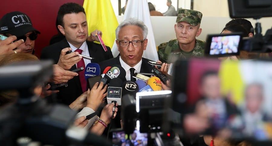 Carlos Valdés, director del Instituto de Medicina Legal de Colombia
