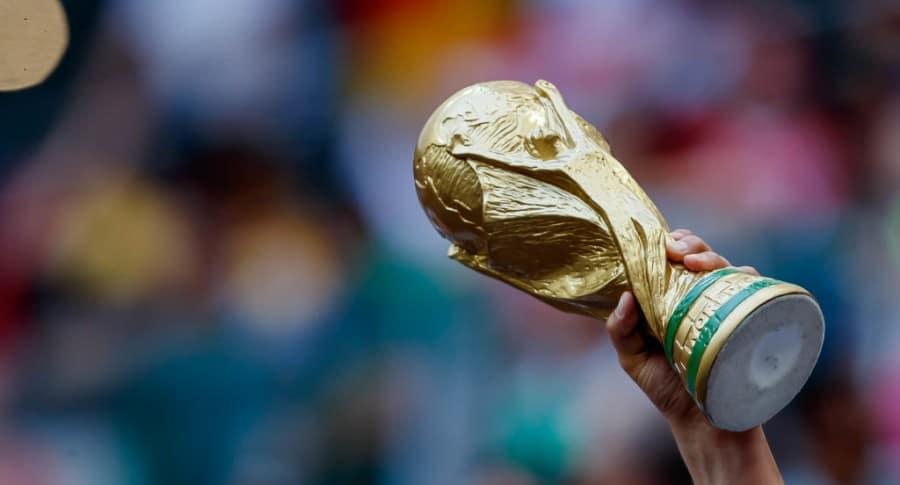 Réplica del trofeo de la Fifa
