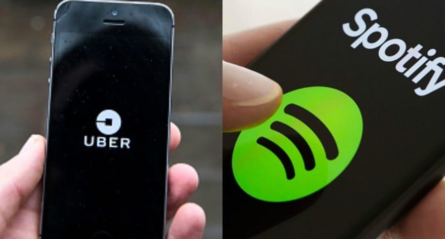 Uber y Spotify