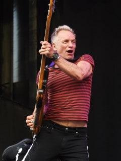 Sting, cantante.