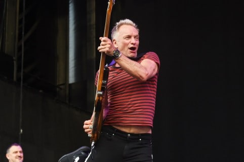 Sting, cantante.