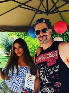 Sofía Vergara y su esposo Joe Manganiello