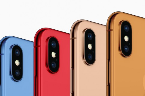 conceptos de color de nuevos iPhone - vía 9to5Mac