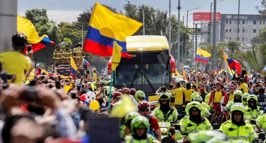 Bus de Selección Colombia