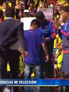Niño Selección Colombia
