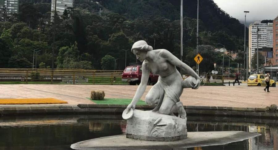 Escultura La Rebeca