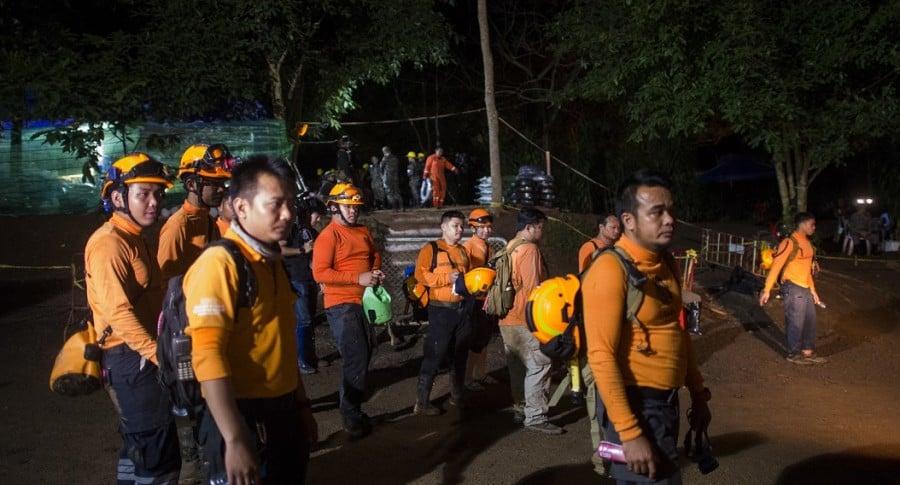 Rescate en Tailandia