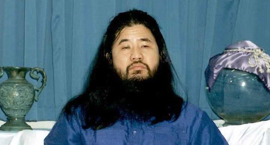 Shoko Asahara, en 1990