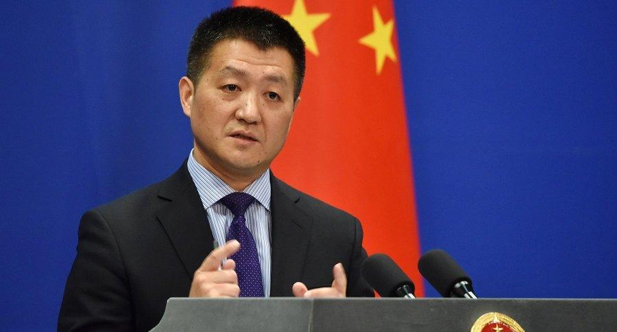 Lu Kang, portavoz del Ministerio chino de Asuntos Exteriores