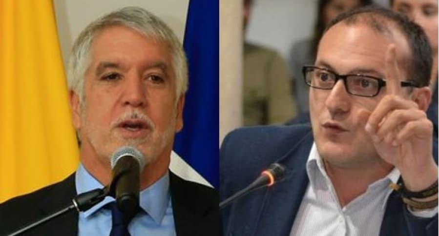 Enrique Peñalosa y Manuel Sarmiento