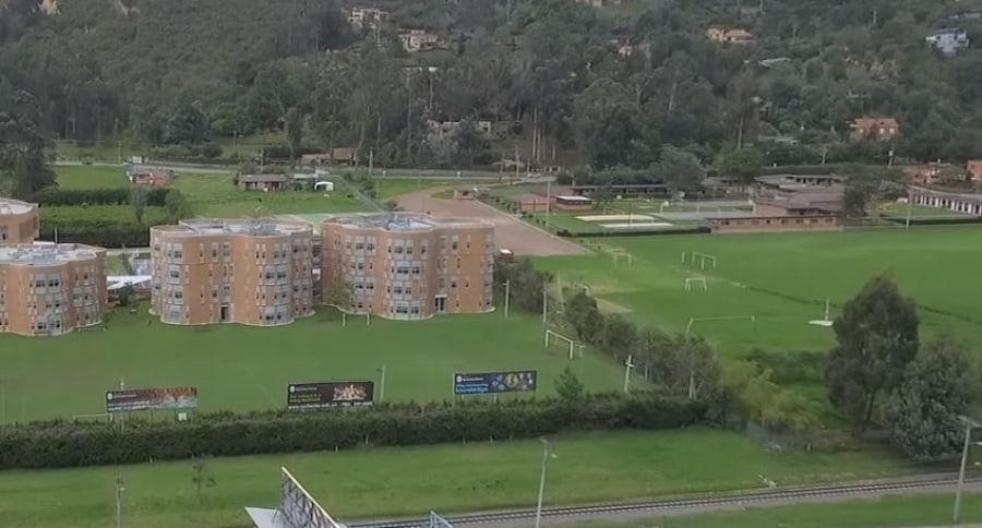 Panorámica del colegio Rochester, norte de Bogotá