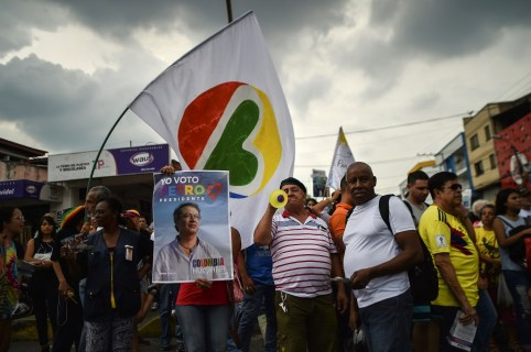 Miembros de Colombia Humana