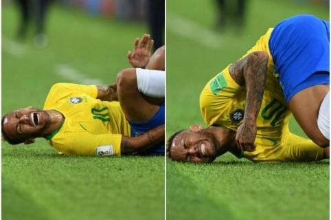 Caídas Y Teatro De Neymar Generan Burlas Hasta En Las Divisiones