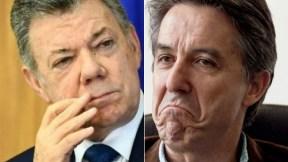 Juan Manuel Santos y Roberto Prieto