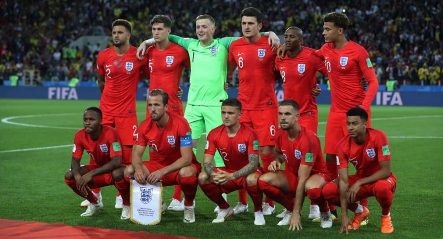 Selección Inglaterra en el Mundial