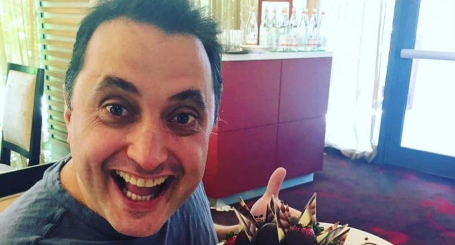 Andrés López, comediante.