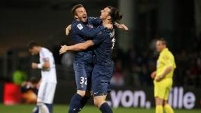 David Beckham y Zlatan Ibrahimovic
