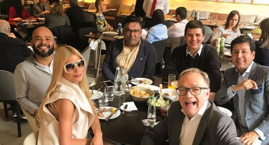 Mary Méndez, Carlos Vargas, Frank Solano,  Wilber Correa, Juan Carlos Giraldo y Carlos Giraldo.