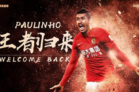 Anuncio del regreso de Paulinho