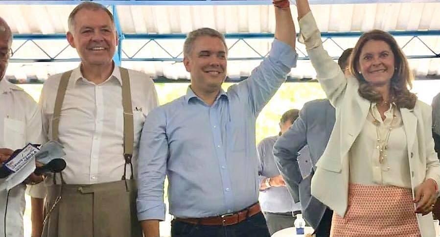 Alejandro Ordóñez, Iván Duque y Marta Lucía Ramírez