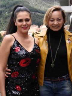 Ana Beatriz Osorio, Aída Morales y Cammy Jiménez
