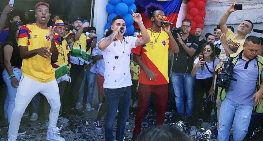 Juan Fernando Quintero y Bomby